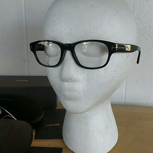 Tom Ford Accessories - Tom Ford Eyeglasses with clip on Shades